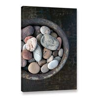 Elena Ray 'Still Life Stone Bowl' Gallery-wrapped Canvas Art