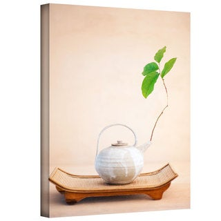 Elena Ray 'Zen New Leaf' Gallery-wrapped Canvas Art