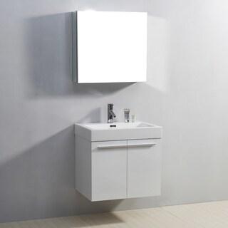 Virtu USA Midori 24-inch Single Sink Bathroom Vanity