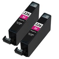 Canon CLI226 Magenta Compatible Inkjet Cartridge (Remanufactured) (Pack of 2)