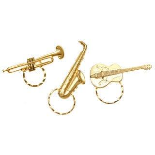 Detti Originals SPEC pins Saxaphone/ Guitar/ Trumpet 3-piece Spectacle Brooch Set
