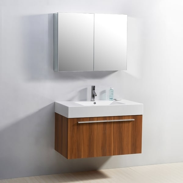 Virtu usa midori 36 inch single sink bathroom vanity set Virtu usa caroline 36 inch single sink bathroom vanity set