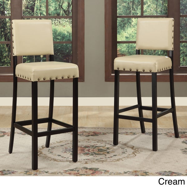Baxton Studio Noah Modern Bar Stools Set Of 4 Free