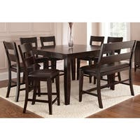 Oliver & James Leon Espresso Dining Set