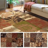 Hand-tufted Solano Transitional Floral Area Rug - 9' x 12'