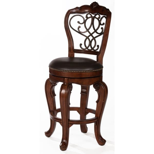 Remarkable Shop Burrell Swivel Stool Free Shipping Today Overstock Caraccident5 Cool Chair Designs And Ideas Caraccident5Info