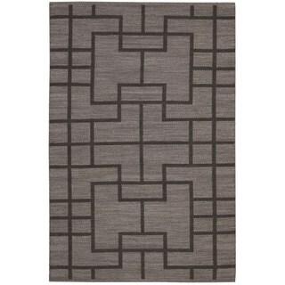 Barclay Butera Maze Slate Area Rug by Nourison (7'9 x 10'10)