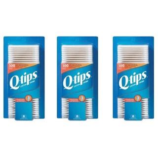 Q-Tips 300-count Antibacterial Cotton Swabs (Pack of 3)