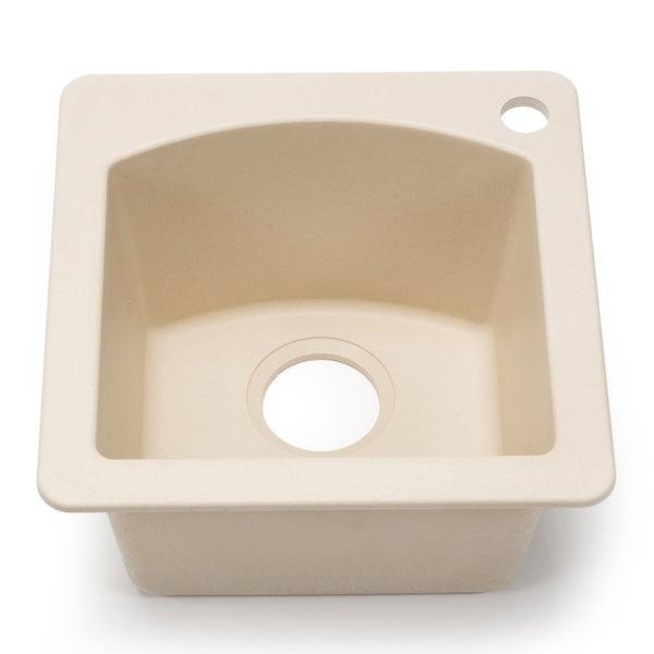 Blanco Silgranit Diamond Biscotti Dual Mount Bar Sink