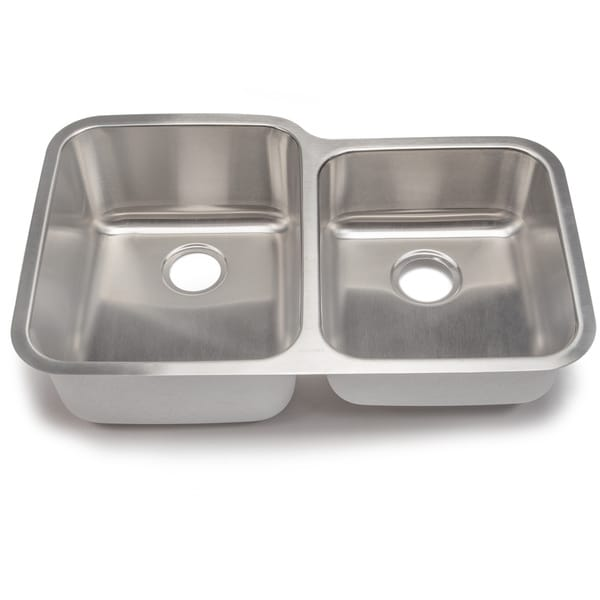 3 Bowl Kitchen Sink : Blanco Stellar 18-gauge Steel 1-3/4 Double Bowl Kitchen Sink - Free ...