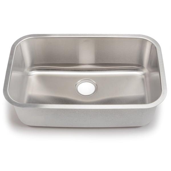 Blanco Stellar 18-gauge Steel Undermount Super Single Bowl Kitchen Sink