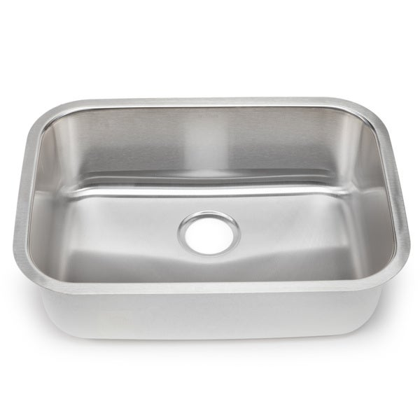 Blanco Stellar 18-gauge Steel Medium Single Bowl Kitchen Sink