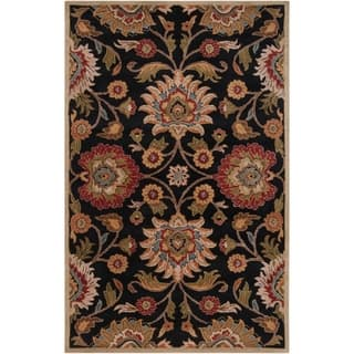 Hand-tufted Alameda Traditional Floral Wool Area Rug (8' x 10') (Option: Black)|https://ak1.ostkcdn.com/images/products/8695023/Hand-tufted-Alameda-Traditional-Floral-Wool-Area-Rug-8-x-10-P15947391.jpg?impolicy=medium