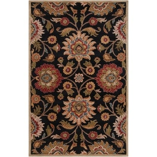 Hand-tufted Alameda Traditional Floral Wool Rug (8' x 10')