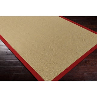 Hand-woven Contra Casual Bordered Area Rug (4' x 6') (2 options available)