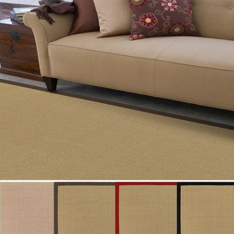 Hand-woven Contra Casual Bordered Area Rug