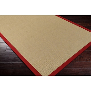 Remi Cabot Handmade Contra Cotton Sisal Casual Bordered Area Rug 9 X
