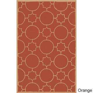 Hand-tufted Elbert Contemporary Geometric Wool Area Rug (3'6 x 5'6) - 3'6 x 5'6 (3 options available)