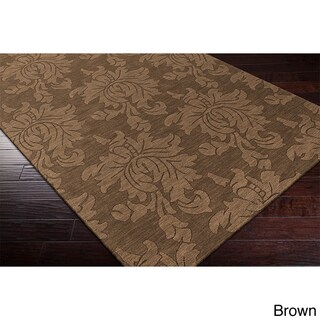 Hand-loomed Tone-on-Tone Otero Floral Wool Area Rug (3'6 x 5'6) - 3'6 x 5'6 (4 options available)