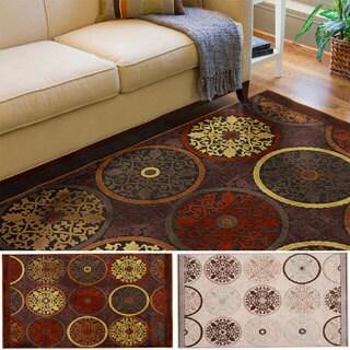 Hand-woven Modoc Contemporary Geometric Area Rug (4' x 5'7)