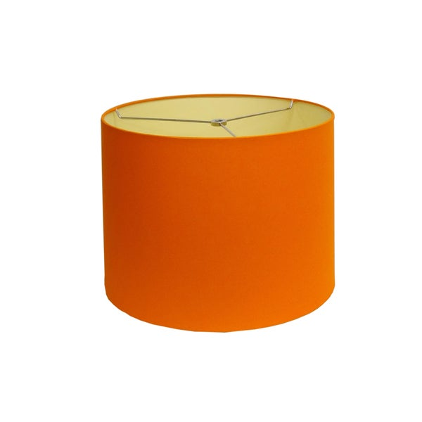 shop round orange small lamp shade free shipping today. Black Bedroom Furniture Sets. Home Design Ideas