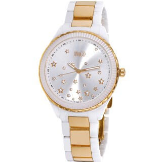 Jivago Women's Quartz White Dial Sky Watch