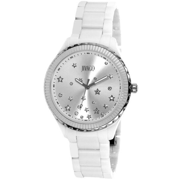 Jivago Women's Quartz Silver Dial Sky Watch