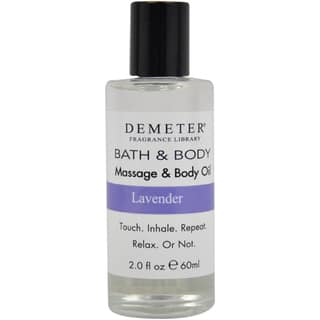 Demeter Lavender 2-ounce Massage and Body Oil|https://ak1.ostkcdn.com/images/products/8695161/P15947472.jpg?impolicy=medium