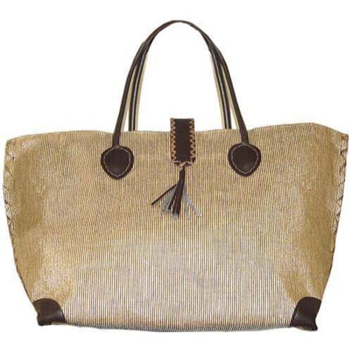 c548affaf7 Women's Bamboo54 from Rayon Metallic Tote Bag Gold