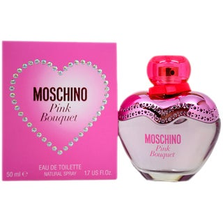 Moschino Pink Bouquet Women's 1.7-ounce Eau de Toilette Spray