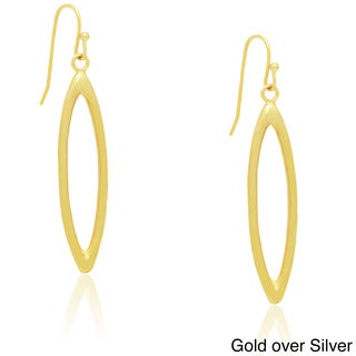 Dolce Giavonna Sterling Silver Dangle Earrings