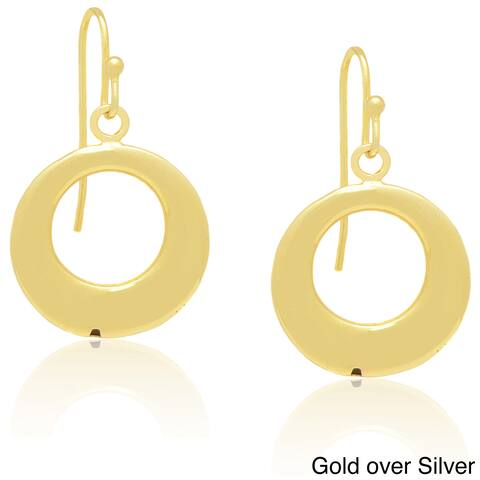 Dolce Giavonna Sterling Silver Dangling Earrings