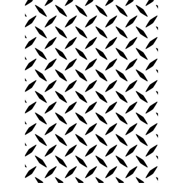 Darice Embossing Folder 4.25 X5.75 - Diamond Plate