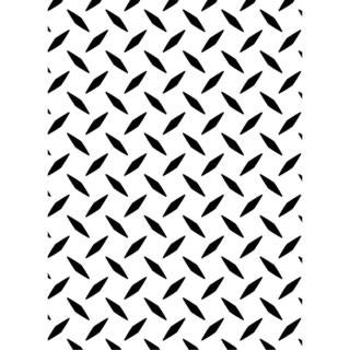 Darice Embossing Folder 4.25 X5.75  - Diamond Plate