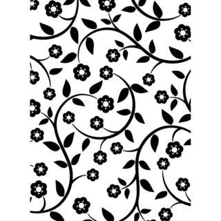 Darice Embossing Folder 4.25 X5.75  - Flowers & Vine