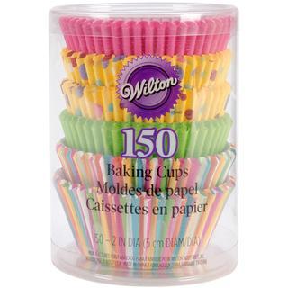 Standard Baking Cups - Dots & Stripes 150/Pkg