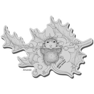 Stampendous House Mouse Cling Stamp - Chin Up