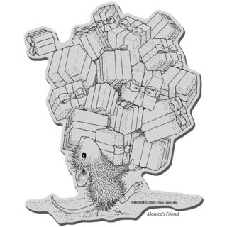 Stampendous House Mouse Cling Stamp - Gifts Galore