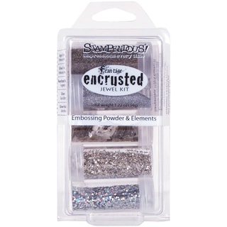 Stampendous Encrusted Jewel Kit - Silver