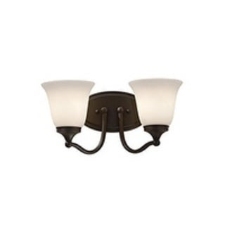 2-light Casual Vanity Fixture