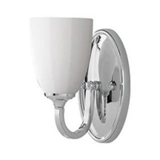 Feiss Perry 1 - Light Vanity Fixture, Chrome