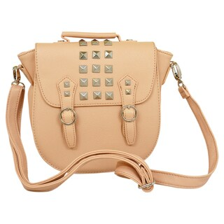 Steve Madden 'Bregan' Blush Studded Crossbody Bag