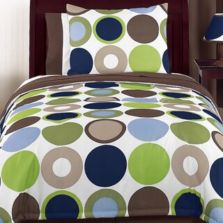 Sweet Jojo Designs Boys 'Dot Modern' Twin 4-piece Comforter Set