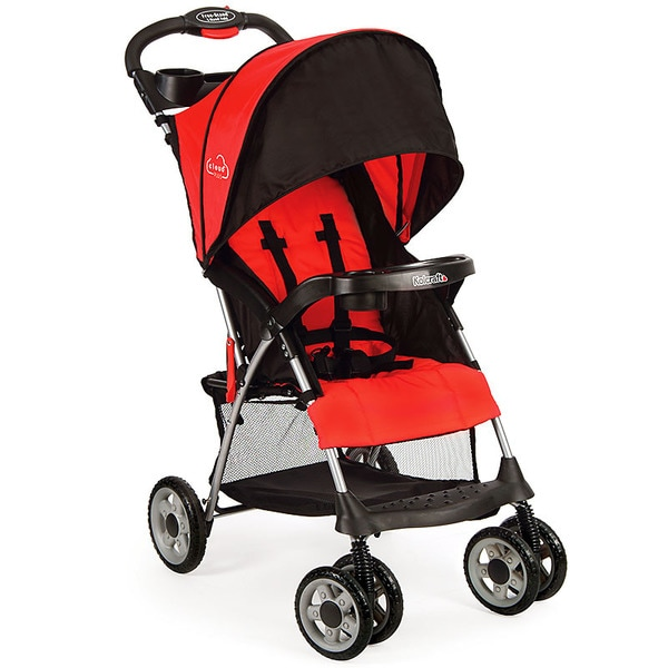Kolcraft Cloud Plus Lightweight Stroller in Red