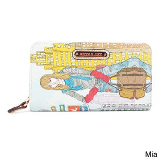 Nicole Lee 'Muneca' City Girl Print Wallet