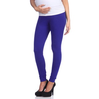 Ashley Nicole Maternity Women's Blue Belly Band Legging