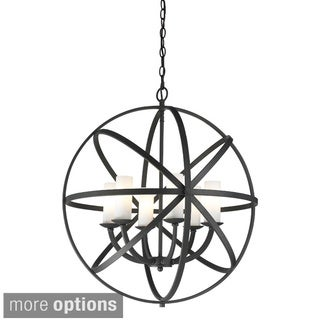 Aranya 6-light Orbit Pendant