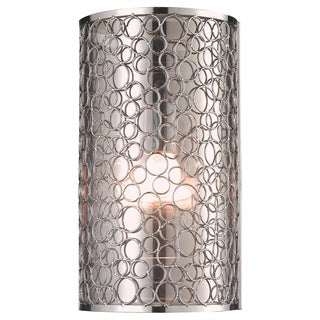 Z-Lite 'Saatchi' Brushed Nickel 1-light Wall Sconce