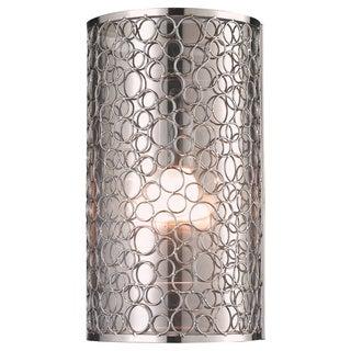 Z-Lite 'Saatchi' Brushed Nickel 1-light Wall Sconce
