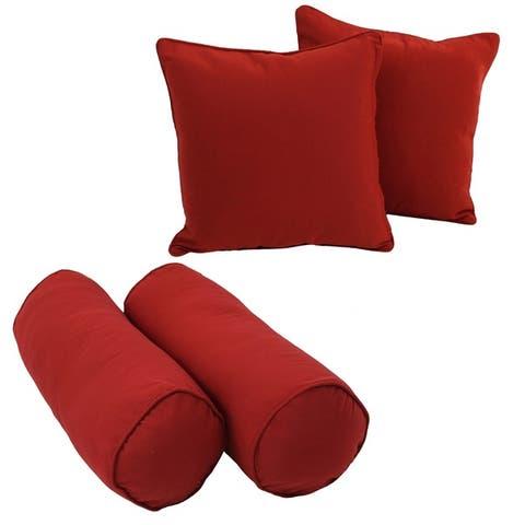 Blazing Needles Indoor Throw Pillow Package (Set of 4)